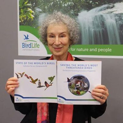 Margaret Atwood, birder and acclaimed author, wrote to the Ontario Government about species at risk on Amherst Island.