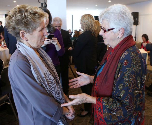 Premier Wynne and APAI President Michèle Le Lay